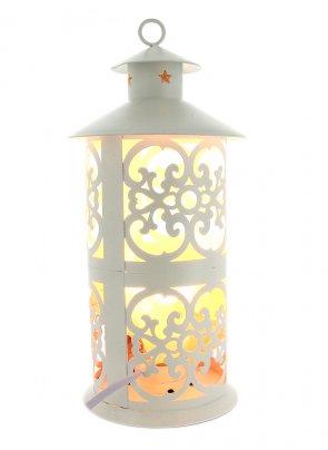 Lampada Lanterna ai Cristalli di Sale Design - 12 x 28 cm