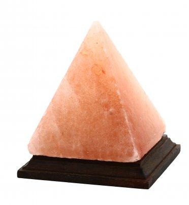 Lampada Piramidale di Sale Rosa Himalayano
