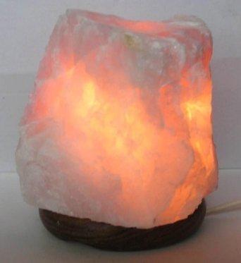 Lampada in Quarzo Rosa 2/3 Kg