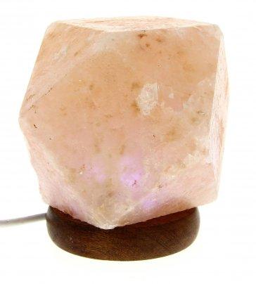Lampada di Sale a Diamante con Presa Usb
