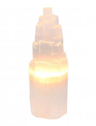Lampada Selenite 25 cm