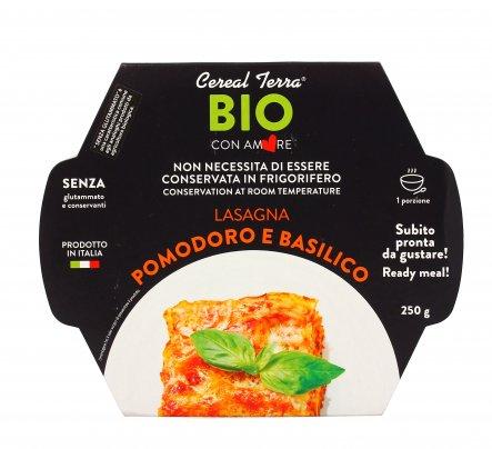 Lasagna Pomodoro e Basilico Bio