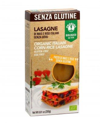 Lasagne Bio di Mais e Riso - Senza Glutine