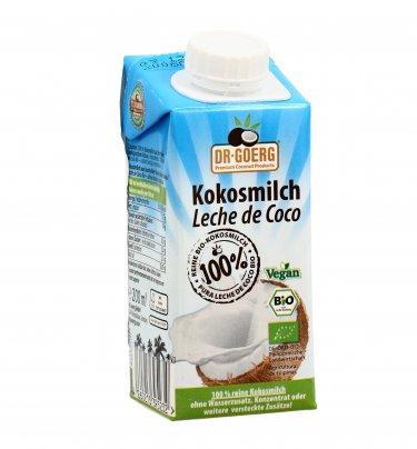 Latte di Cocco Biologico 100% 250 ml