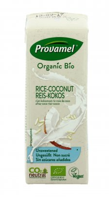 Bevanda Vegetale di Riso e Cocco Biologico - Rice Coconut 250 ml con cannuccia