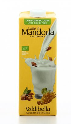 Bevanda di Mandorla con Sciroppo d'Uva Bio