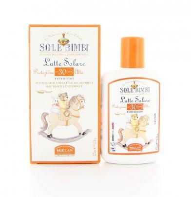 Latte Solare Protezione Molto Alta Spf30 - Sole Bimbi