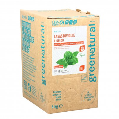 Detersivo Lavastoviglie Liquido Menta ed Eucalipto - Eco Box Sfuso