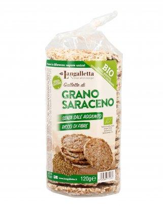 Gallette di Grano Saraceno Biologiche - Senza Glutine