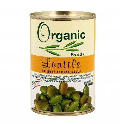 Lenticchie Lessate con Salsa di Pomodoro - Lentils