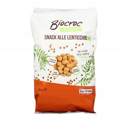 Snack Lenticchie Rosse - Biocroc