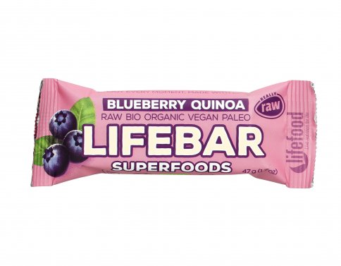 Barretta Superfood Plus Blueberry e Quinoa Lifebar