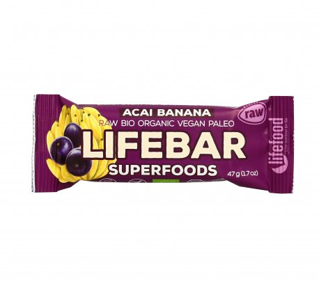 Barretta Superfood Plus Acai e Banana Lifebar