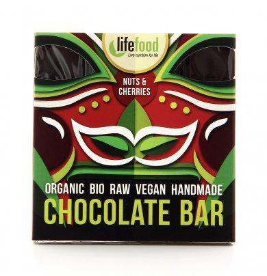 Cioccolato con Noci del Brasile e Ciliegie - Chocolate Bar