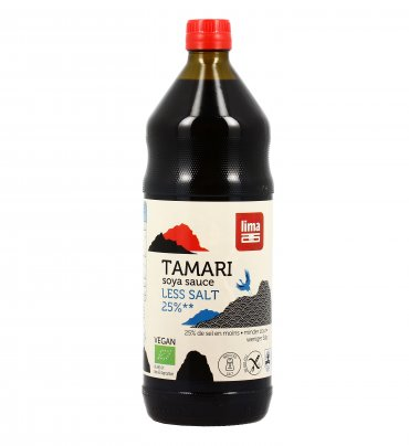"Salsa di Soia con Poco Sale ""Tamari Less Salt"" 1000 ml"