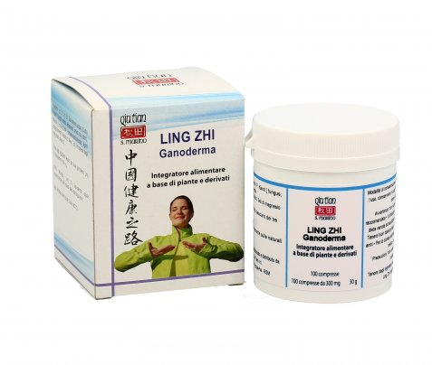 Ling Zhi Ganoderma in Compresse