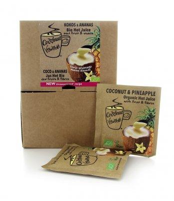 Bevanda Solubile Biologica - Coconuts Vibrations Bio Fan Box - Bustine 26 X 30 gr.