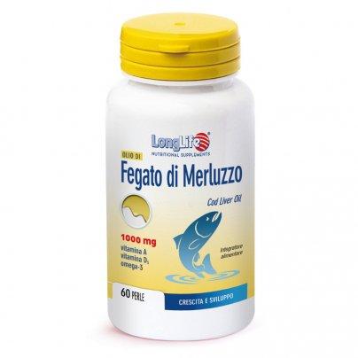 Olio di Fegato di Merluzzo 1000 mg - Crescita e Sviluppo