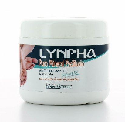 Antiodorante Naturale in Polvere per Pediluvio - Lynpha Puro Mineral