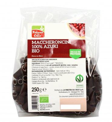 Maccheroni 100% Farina di Fagioli Azuki Bio