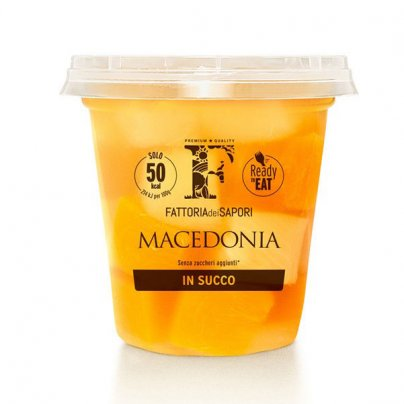 "Macedonia Naturale Succo ""Mangia e Bevi"" FruttaGO - Senza Zuccheri Aggiunti"