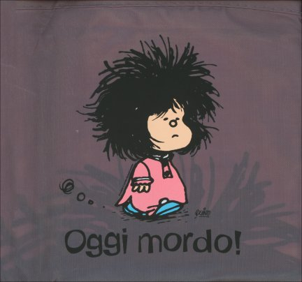 Borsa Pieghevole Grigia - Mafalda