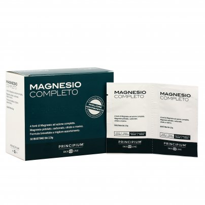 """Magnesio Completo """"Principium"""" - Nuova Formula 32 Bustine da 2.5 g (80 g)"""