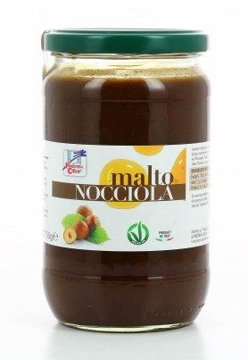 Crema di Nocciole con Malto di Mais - Malto Nocciola 750 gr.