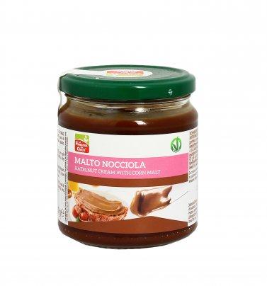 Crema di Nocciole con Malto di Mais - Malto Nocciola 300 gr.