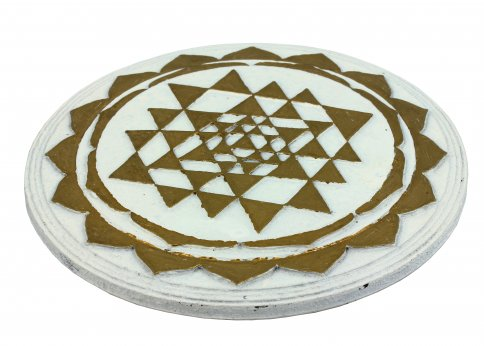 Mandala Tripura Sundari Bianco