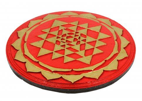Mandala Tripura Sundari Rosso