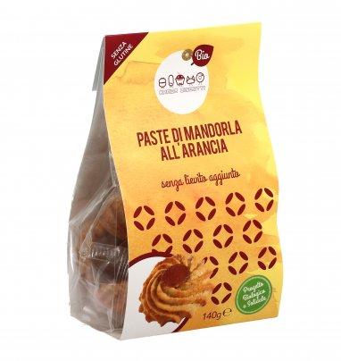 Paste di Mandorla all'Arancia - Senza Glutine
