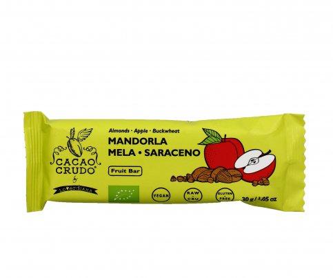 Barretta Bio con Mandorla, Mela e Grano Saraceno - Senza Glutine