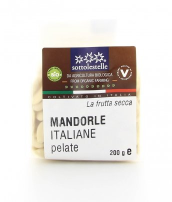 Mandorle Italiane Pelate Biologiche