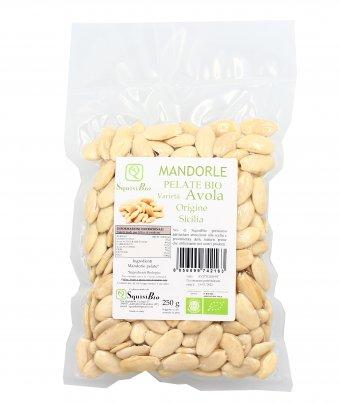 Mandorle Pelate Bio varietà Avola