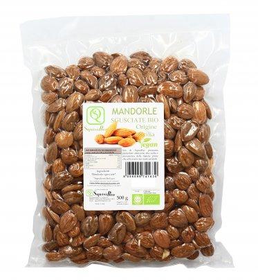 Mandorle Sgusciate Bio Origine Sicilia 500 g