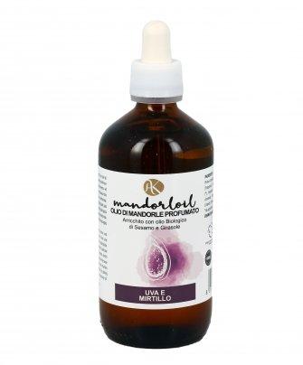 Olio di Mandorle Profumato - Mandorloil Uva e Mirtillo