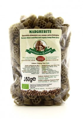 Margherite - Pasta con Canapa Sativa Biologica