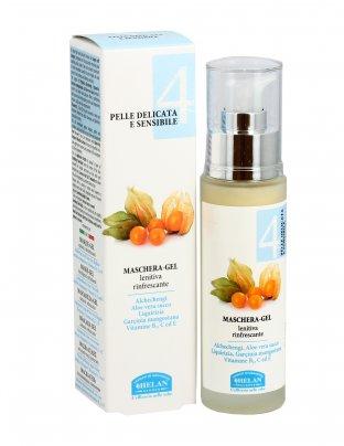 Maschera-Gel Lenitiva Rinfrescante - Pelle Delicata e Sensibile 4