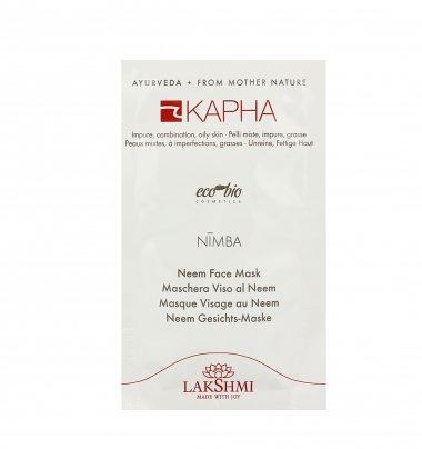 Maschera Viso al Neem - Kapha Nimba Monodose (10 ml)