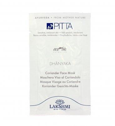 Maschera Viso al Coriandolo - Pitta Dhanyaka Monodose (10 ml)