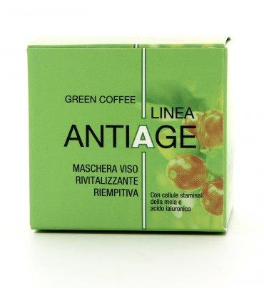 Maschera Viso Anti-Age Green Coffee