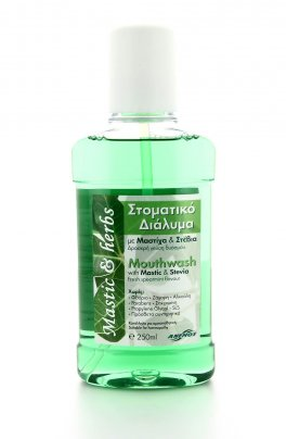 Mastic & Herbs Mouthwash - Colluttorio Naturale Mastice e Erbe