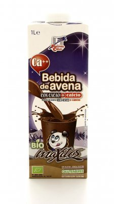 Maxitos Bio - Bevanda di Avena al Cacao con Calcio