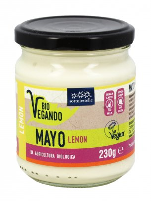 Maionese Vegan al Limone - Bio Vegando