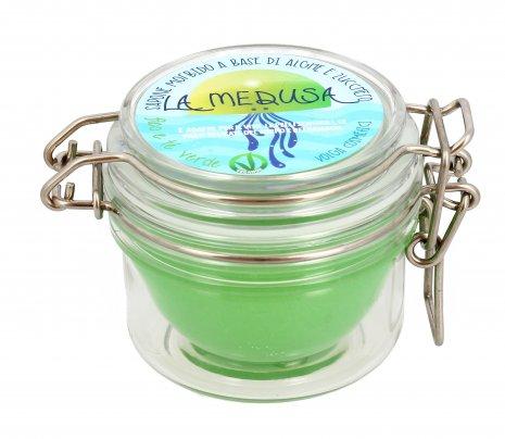 """Sapone Detergente Corpo """"La Medusa"""" - Fico e Tè Verde"""