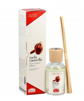 Essenza Mela Cannella per l'Ambiente Bastoncini aromatici 100 ml.