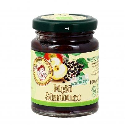 Crema di Frutta Fresca - Mela e Sambuco Bio