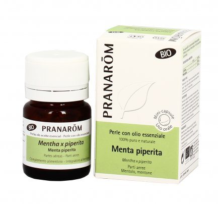 Menta Piperita - Perle con Olio Essenziale - Tonico e Digestivo