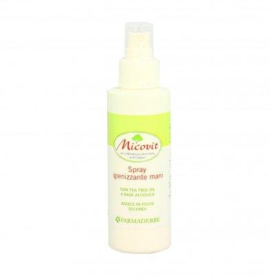 Spray Igienizzante Mani con Tea Tree - Micovit